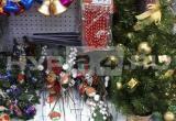 В новоуренгойских магазинах на прилавках появились новогодние товары (ФОТО)