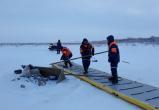 На Ямале под воду ушел снегоход: есть погибший (ФОТО)