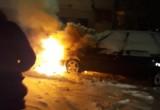 Утром в мкр. Восточный горел автомобиль (ВИДЕО, ФОТО)