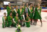 Ямальские спортсменки заняли первое место в международном турнире по фигурному катанию (ВИДЕО)