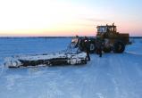 Погода позволила открыть зимник Уренгой — Красноселькуп
