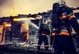 В Салехарде сгорела хозпостройка при невыясненных обстоятельствах