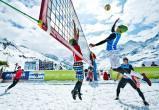 Горожан приглашают сыграть в волейбол на снегу под открытым небом