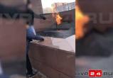 В Новом Уренгое дети жгли прутья в Вечном огне (ФОТО, ВИДЕО)