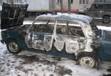 В Лимбяяхе горел автомобиль «Жигули»
