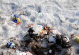 Под домом в Юбилейном разбросали мусор (ВИДЕО)
