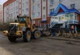 В Новом Уренгое для движения закрыли улицу Университетскую