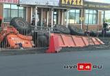 На Губкина грузовик провалился в яму (ФОТО, ВИДЕО)