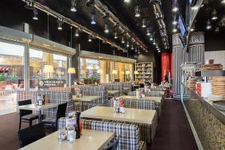 Перчини, Ресторан