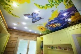 Натяжнов, Натяжные и подвесные потолки