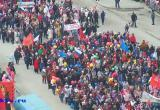 В Новом Уренгое прошло праздничное шествие в честь 9 мая (ФОТО)