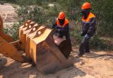 Бочки с горючим вывезли из тундры (ФОТО)