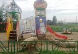 «Свинство какое-то»: в Лабытнанги на детской площадке пасутся свиньи