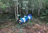 Рядом с Новым Уренгоем в тундре кто-то выбросил бочки с логотипом «Газпром нефть» (ФОТО)