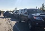 Увезли на скорой в ЦГБ: стали известны подробности утреннего ДТП в Новом Уренгое (ФОТО, ВИДЕО)