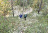 «Ямалспас» вывел заблудившуюся женщину из леса и проводил до машины (ФОТО)