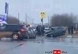 ДТП в Новом Уренгое: в столкновении Lada и Nissan пострадали люди (ФОТО, ВИДЕО)