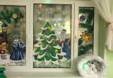 В Новом Уренгое найдут самое новогоднее окно