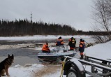 В Ямальском районе на реке сломалась аэролодка с пассажирами, на помощь отправился «Ямалспас» (ФОТО)