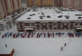 Более 150 учеников новоуренгойских школ устроили флешмоб (ВИДЕО)