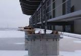 На мосту через Пур началось сооружение пролетов между опорами (ФОТО)