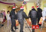 В Ноябрьске спецназ в полной экипировке поздравил воспитанников детского дома с Новым годом (ФОТО)