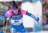 Ямальская биатлонистка Куклина финишировала в пятом десятке на чемпионате мира